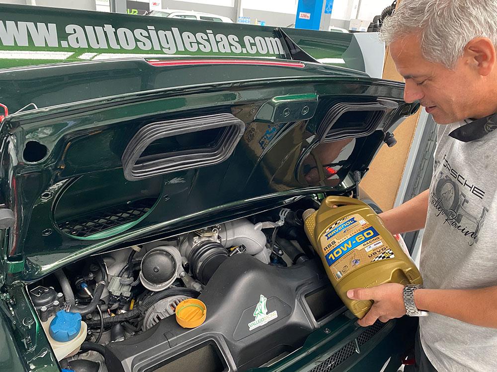 Vallejo Racing pone en tu casa los lubricantes de nuestro Porsche 911 GT3: RAVENOL