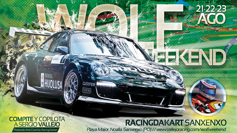 Wolf Weekend – 21 a 23 de agosto – Racing Dakart Sanxenxo