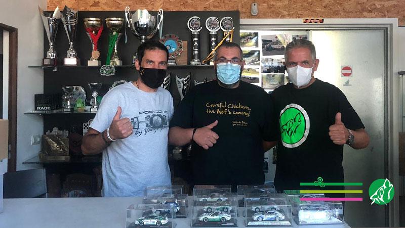 Nos visita Manuel López, coleccionista de maquetas de nuestros coches