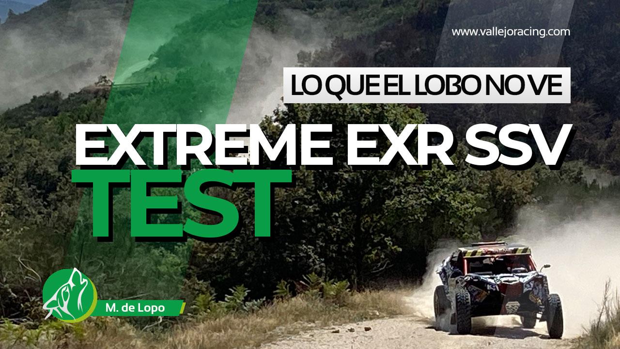 Lo que el lobo no ve: Sergio Vallejo prueba el Extreme EXR SSV del Dakar