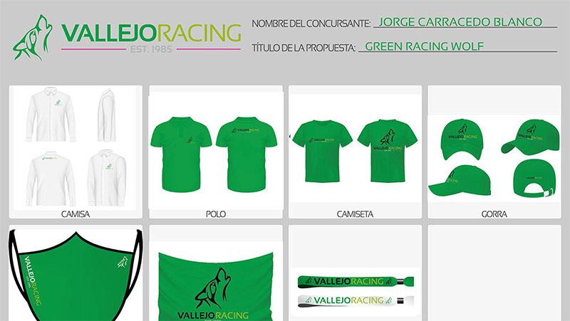 Green Racing Wolf