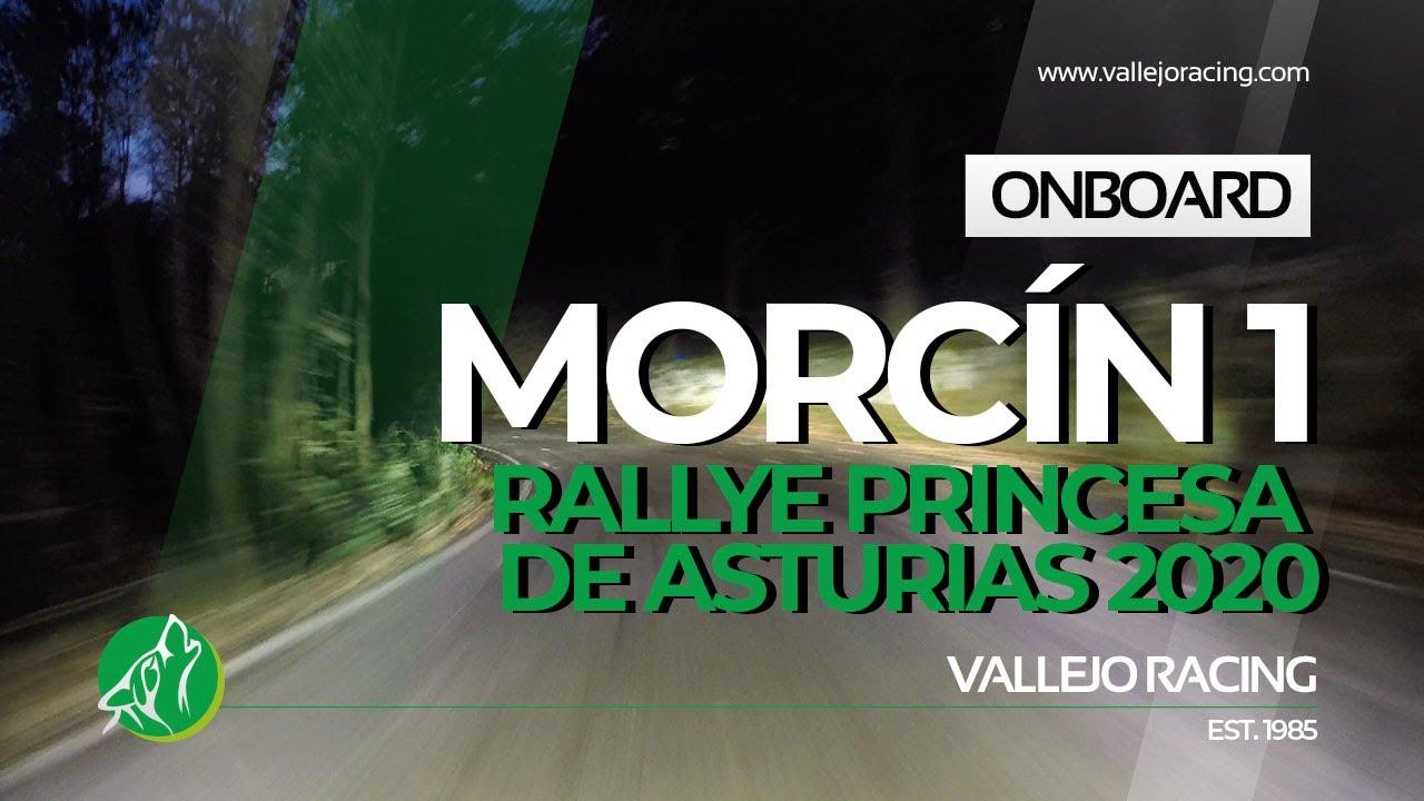 Rallye Princesa de Asturias 2020. Onboard. Morcín 1