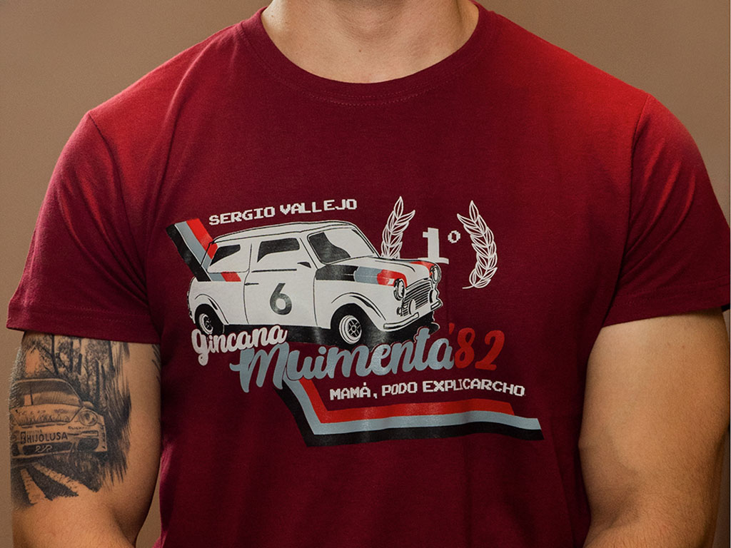 Camiseta Muimenta 1982: La primera victoria de Sergio Vallejo