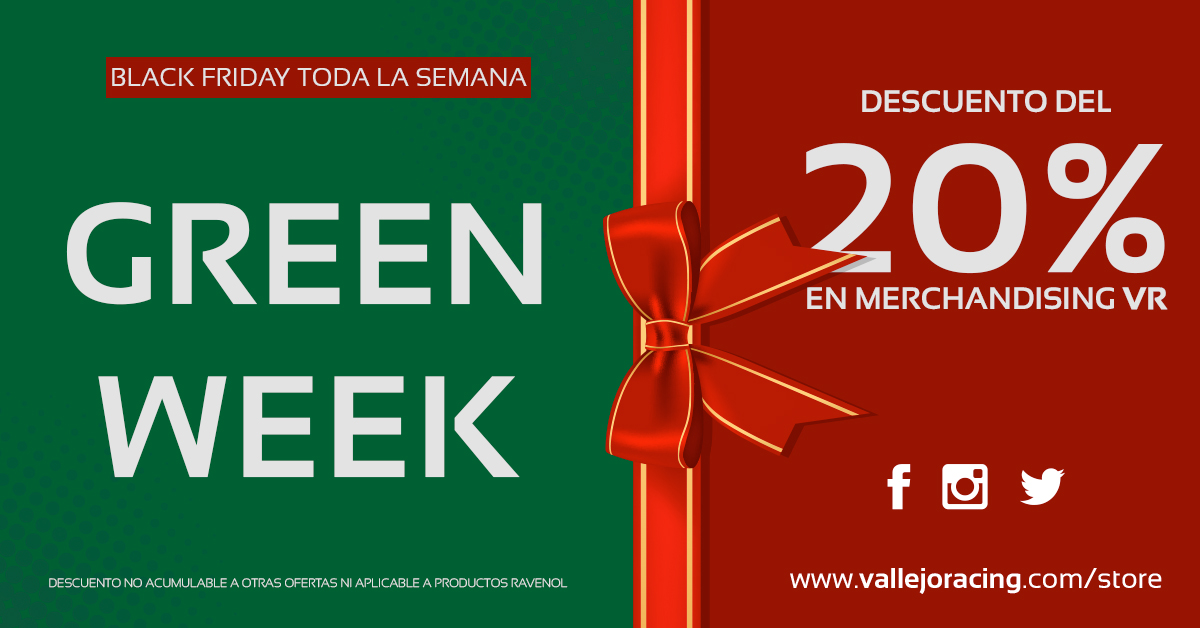 ¿Black Friday? ¡Green Week!