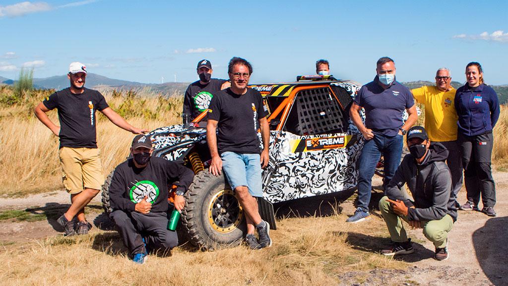 Sergio y Diego Vallejo, inscritos en la Baja TT Dehesa Extremadura con un Extreme EXR by SV