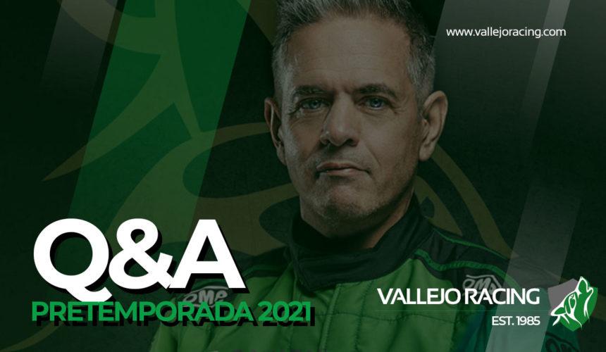 Q&A Sergio Vallejo. Pre-temporada 2021