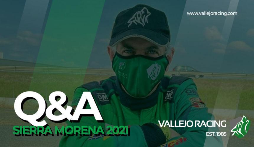 Q&A Sergio Vallejo tras 38º Rallye Sierra Morena 2021