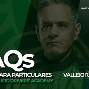 Cursos SERGIO VALLEJO DRIVERS' ACADEMY – FAQs