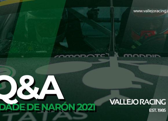 Q&A Sergio Vallejo tras 33º Rallye CIDADE DE NARÓN 2021