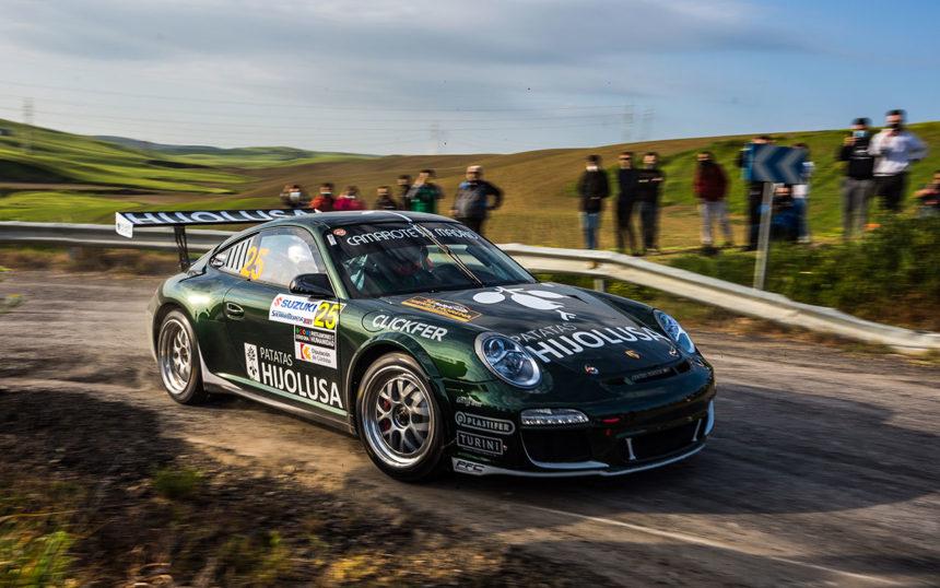 Sergio Vallejo y Álvaro Louro correrán el rallye de narón 2021 con el porsche 911 gt3