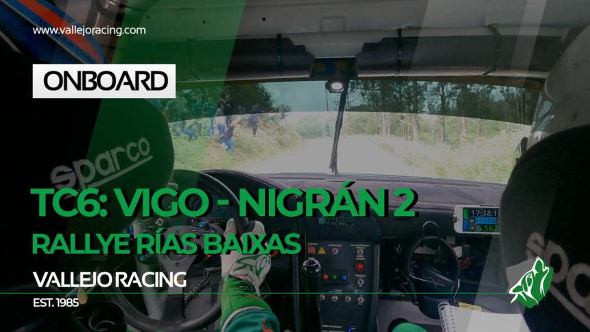 Rallye Rías Baixas 2021. onboard. TC9 – Vigo – Nigrán 3