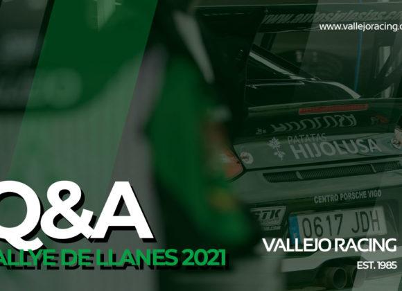 Q&A Sergio Vallejo tras 44º Rallye VILLA DE LLANES 2021