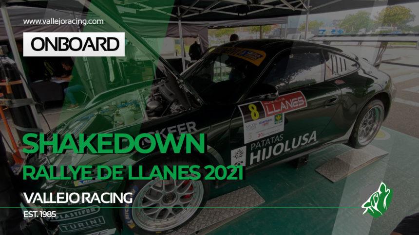 ONBOARD MULTICÁMARA DEL SHAKEDOWN. Rallye DE LLANES 2021. SERGIO VALLEJO-ÁLVARO LOURO
