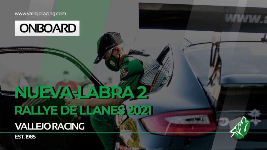 Sergio Vallejo – Álvaro Louro. Onboard Rallye de Llanes 2021. TC6 – Nueva-Labra 2.