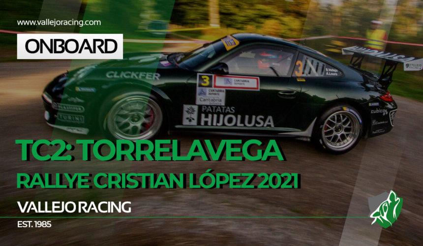Rallye Cristian López Herrero 2021. onboard. TC2 – Torrelavega con el deporte