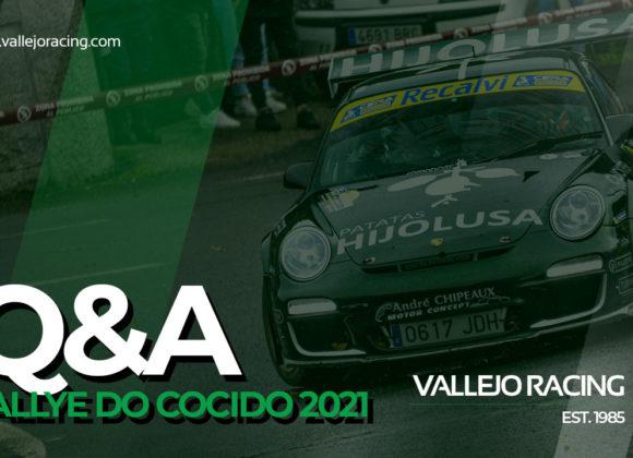 Q&A Sergio Vallejo tras 44º Rallye do Cocido 2021